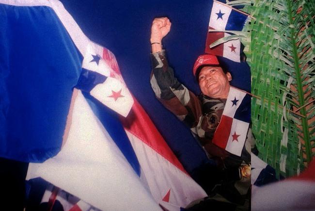 General Manuel Noriega, Panamá, 1987. Stephen Ferry