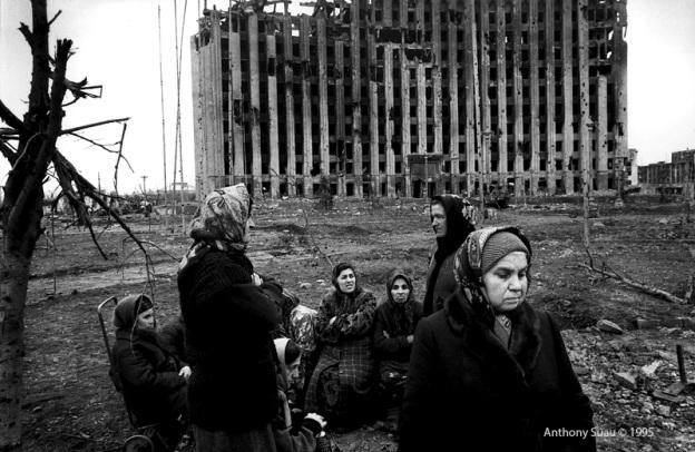 Anthony Suau. Grozni, Chechenia. 1995. Todo derecho reservado.