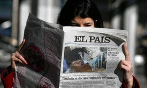 Hugo Chavez fake picture in El Pais