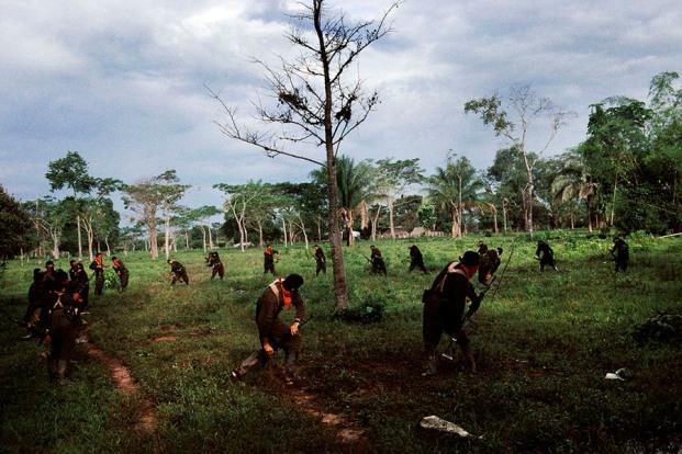 Stephen Ferry. Arauca, Colombia  2004. Todo derecho reservado.