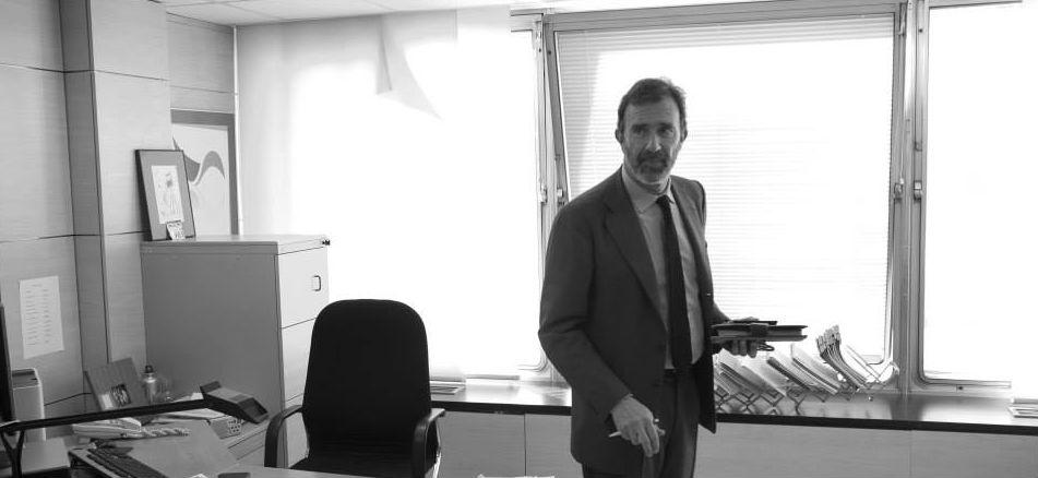 Joaquín Müller-Thyssen Bergareche en su oficina de Madrid / Fundéu
